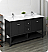 """Fresca Manchester 60"""" Traditional Double Sink Bathroom Cabinet with Top & Sinks - Color Options"""