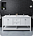 """Fresca Manchester 72"""" Traditional Double Sink Bathroom Cabinet with Top & Sinks - Color Options"""