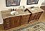 Silkroad Double Sink Vanity HYP-0904LMR