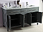 """60"""" Double Sink Bathroom Cabinet + Countertop and Mirror Options"""