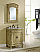 """27"""" Tan Vanity with Matching Medicine Cabinet"""