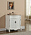 """32"""" Antique White Vanity with Matching Medicine Cabinet"""