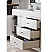 """James Martin Linear Collection 72"""" Single Vanity, GW"""