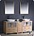 "Fresca Torino 72"" Oak Modern Double Bathroom Vanity"