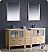 "Fresca Torino 72"" Oak Double Sink Bathroom Vanity"