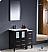 "Fresca Torino 36"" Espresso Modern Bathroom Vanity"