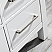 """72"""" Double Vanity in White with Carrara White Marble Countertop With Mirror"""