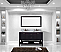 """Winterfell 60"""" Double Bath Vanity in Espresso with Marble Top and Square Sink with Faucet and Mirror Options"""