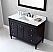 """48"""" Cabinet Only in Espresso with Top, Sink and Mirror Options"""