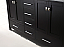 """60"""" Cabinet Only in Espresso with Top, Faucet and Mirror Options"""