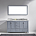 """60"""" Cabinet Only in Grey with Top, Faucet and Mirror Options"""