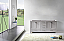 """72"""" Cabinet Only in Cashmere Grey with Top, Faucet and Mirror Options"""