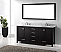 """72"""" Cabinet Only in Espresso with Top, Faucet and Mirror Options"""