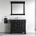 """40"""" Cabinet Only in Dark Walnut with Top, Mirror and Faucet Options"""