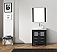"""30"""" Cabinet Only in Zebra Grey with Top, Faucet, Mirror and Sink Options"""