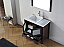 """36"""" Cabinet Only in Espresso with Top, Faucet, Mirror and Sink Options"""