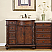 "Silkroad 55"" Single Sink Vanities"