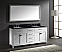 """72"""" Cabinet Only in White with Countertop, Faucet and Mirror Options"""