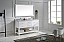"60"" Cabinet Only in White Finish with Top, Mirror and Faucet Options"
