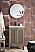"James Martin Chianti Collection 24"" Single Vanity Cabinet, Whitewashed Walnut"