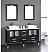 Cambridge 63 inch Solid Wood Double Bathroom Vanity