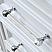 "48"" Pure White Single Sink Bathroom Vanity with Carrara White Marble Top"