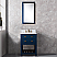 """24"""" Monarch Blue Single Sink Bathroom Vanity"""