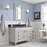 """48"""" Bathroom Vanity in Earl Grey with Blue Limestone Top with Faucet"""