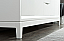 "72"" Double Sink Carrara White Marble Vanity In Pure White Finish"