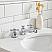"24"" Single Sink Quartz Carrara Vanity In Cashmere Grey"