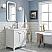 "30"" Single Sink Quartz Carrara Vanity In Pure White"
