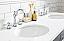 """60"""" Double Sink Quartz Carrara Vanity In Cashmere Grey"""