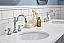"""72"""" Double Sink Quartz Carrara Vanity In Cashmere Grey"""