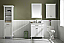 """30"""" Single Sink Vanity Cabinet with Carrara White Top and Color Options"""