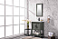 """24"""" Pewter Green Single Sink Bathroom Vanity in Ceramic Top and White Ceramic Sink with Color Options"""