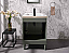 """24"""" Single Sink Bathroom Vanity in Ceramic Top and White Ceramic Sink with Color Options"""