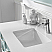 "48"" Single Vanity in Finnish Green and Composite Carrara White Stone Countertop Without Mirror"