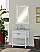 """30"""" Bathroom Vanity Base, White-Wash Finish with Countertop Options"""