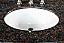 """42"""" Antique Style Single Sink Bathroom Vanity with Coral Brown Granite Top"""