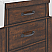 """72"""" Double Sink Carrara White Marble Countertop Vanity in Rustic Sienna with Mirror and Faucet Options"""
