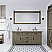"72"" Double Sink Carrara White Marble Countertop Vanity in Grizzle Gray with Mirror with Faucet Options"
