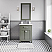 """24"""" Integrated Ceramic Sink Top Vanity in Glacial Green with Faucet Option"""