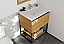 "30"" Base Bathroom Vanity - California White Oak Cabinet Finish with Top Options"