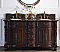 """60"""" Timeless Classic Style Double Sink Bathroom Vanity"""