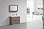 "Modern Lux 36"" Butternut Free Standing Modern Bathroom Vanity"