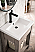 "James Martin Brooklyn 24"" Wooden Sink Console, Platinum Ash"