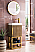"""James Martin Columbia 16"""" Single Vanity Cabinet, Latte Oak with Hardware and Countertop Options"""