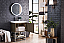 """James Martin Columbia 24"""" Single Vanity Cabinet, Ash Gray with Hardware and Countertop Options"""