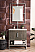 """James Martin Columbia 31.5"""" Single Vanity Cabinet, Ash Gray with Hardware and Countertop Options"""