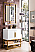"""James Martin Columbia 31.5"""" Single Vanity Cabinet, Glossy White with Hardware and Countertop Options"""